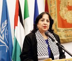 Photo of وزيرة الصحة د. مي الكيلة خلال الإيجاز الخاص بفيروس كورونا