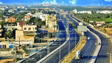 Photo of حالة الطرق على كافة المحاور هذا اليوم في القطاع