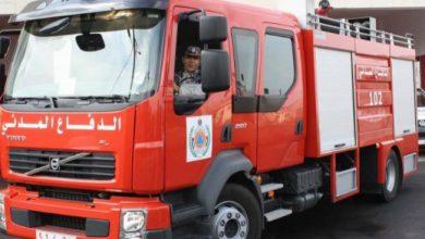 Photo of اندلاع حريق في مخبز اليازجي وسط القطاع
