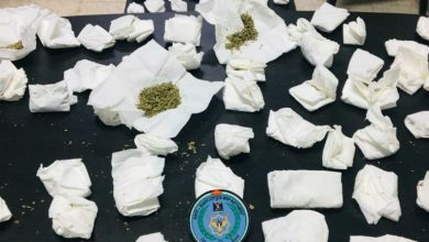 Photo of الشرطة: ضبطت مساء اليوم  كيلو غرام من مواد المخدرة  في اريحا .