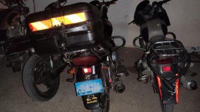 Photo of مباحث بيت لاهيا : تم ضبط 4 دراجات نارية وقطع دراجات مسروقة