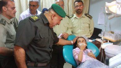 "Photo of ""شملت تسليم سيارة اسعاف واجهزة الطبية"" …بصور اللواء الجراح يتفقد المستشفى الجزائري بخانيونس."
