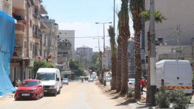 Photo of رئيس بلدية النصيرات: مستمرون في تغيير مظهر الشارع الرئيس بالمخيم