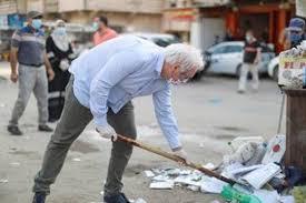 Photo of الأونروا : ماتياس شمالي يشارك موظفي صحة البيئة عملهم جنوب قطاع غزة