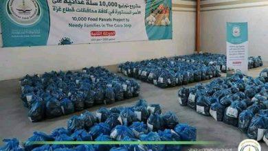 Photo of عاجل: تم تجهيز مشروع السلة الغذائية ل 10.000 اسرة متعففة