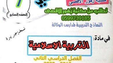 Photo of كراسة #الحل_الذكي في مادة التربية الاسلامية والتلاوة للصف السابع الفصل الدراسي الثاني |