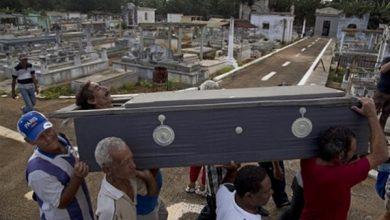 Photo of رجل يعود لزوجته بعد دفنه بأربعة أيام
