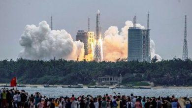 Photo of صاروخ الصين سيمر عدة مرات فوق الوطن العربي وست دول في مأمن