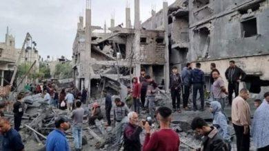 Photo of انتشال جثمان شهيد من حي الشجاعية شرق غزة